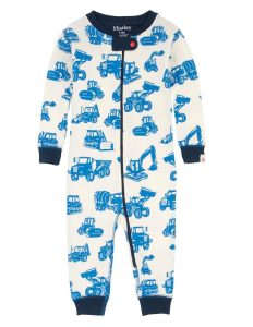 Hatley Cream Silhouette Diggers Coverall