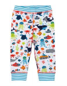 Hatley Ocean Animals Baby Reversible Pants