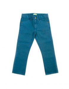 Lily-Balou Petrol Blue Ethan Slim Leg Trousers