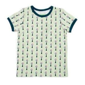 Lily-Balou Green Trees Print Leo Short Sleeve T Shirt