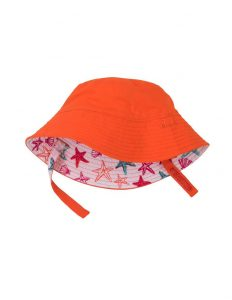 Hatley Starfish Baby Reversible Sunhat With Ties