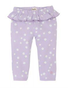 Hatley Lilac Baby Ruffle Summer Leggings