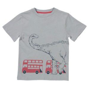 Kite Grey Titanosaur Dinosaur  Short Sleeve Top