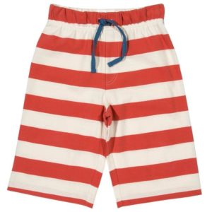 Kite Red Stripy Jersey Shorts