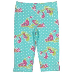 Kite Polka Bird Pedal Pushers Leggings