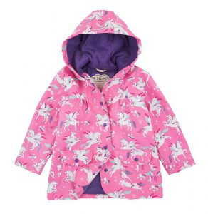 Hatley Rainbow Unicorns Baby Raincoat