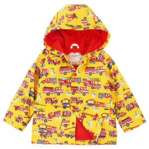Hatley Fire Trucks Baby Raincoat