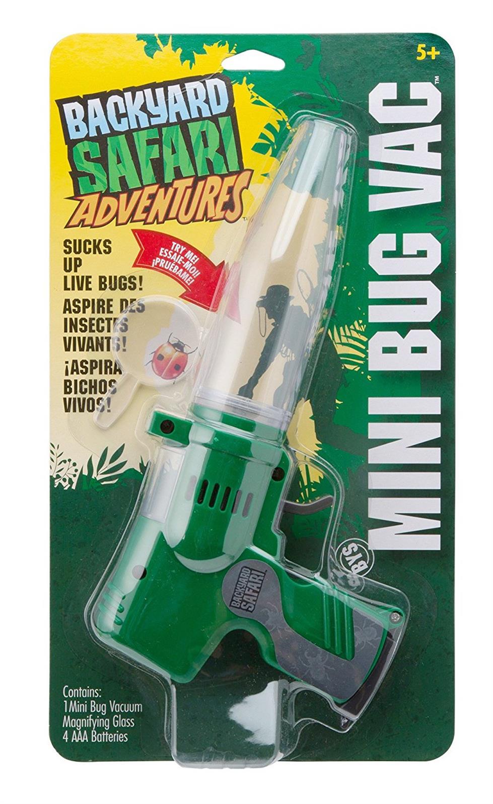 alex backyard safari mini bug vac catfish kids
