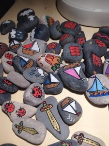 Tiny House Story Stones
