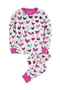 Hatley Cream Hens and Chicks Pyjama Set