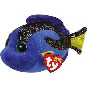 Ty Beanie Boo –  Aqua the Blue Fish