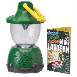 Backyard Safari Adventurers Mini Lantern
