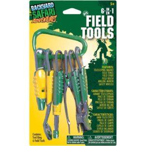 Backyard Safari Adventurers 6 in 1 Field Tools