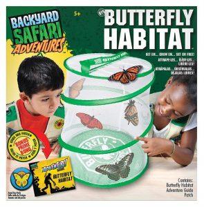 Alex Backyard Safari Advenures Butterfly Habitat