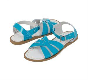 Salt Water Shiny Turquoise Original Premium Sandals