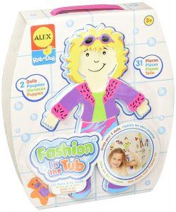 Alex Fashion in the Tub Fun Bath Activity Toddler Toy New