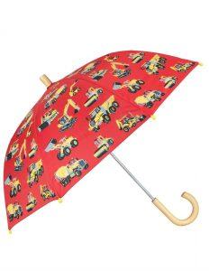 NEW Hatley Red Heavy Duty Machines Children's Umbrella Accessory SS18 BNWT