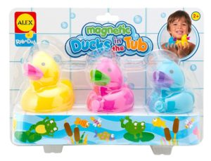 Alex Magnetic Ducks in the Tub Fun Bath Activity Toddler Toy New