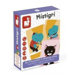 Janod Mistigri Matching Families Card Game