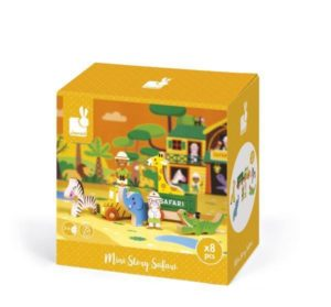 Janod Mini Safari Story Figures Set