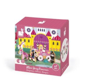 Janod Mini Princess Story Wooden Figures Set