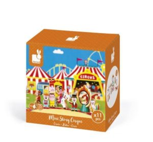 Janod Mini Story Wooden Circus Set