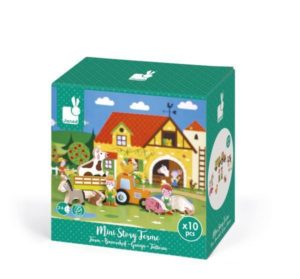 Janod Mini Farm Story Set
