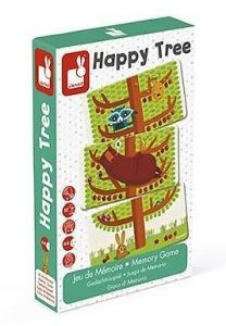 NEW Janod Happy Tree Memory Card Match Game Childrens Family Educational Fun