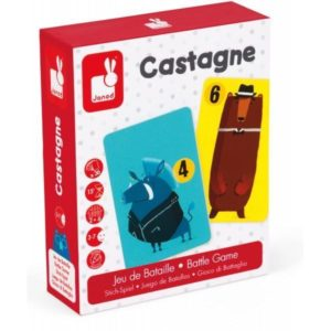 NEW Janod Castagne Battle Game Childrens Educational Learning Game BNIB
