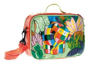 Petit Jour Paris Elmer the Elephant Thermo Lunch Box Sandwich Food Box