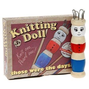Ackerman Those Were The Days Knitting Doll