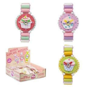 Tobar Wooden Cup Cake Watches