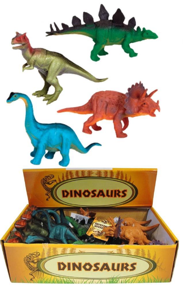 Динозавры из пластики