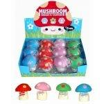 MUSHROOM SHARPENER & ERASER (ONE SUPPLIED)