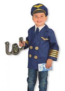 MELISSA AND DOUG PILOT ROLE PLAY CHILDS COSTUME SET