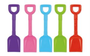 Bright Coloured Scoop Spade