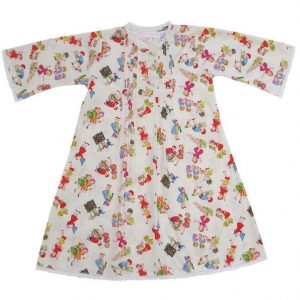Powell Craft Handmade Amber Girls at Play Nightdress