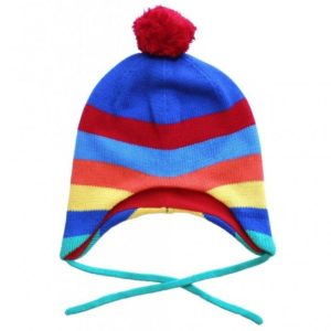 Toby Tiger Multi Stripe Knitted Hat