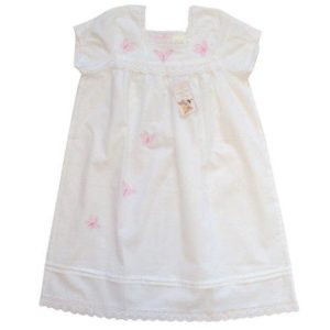 Powell Craft Handmade Flora White Nightdress