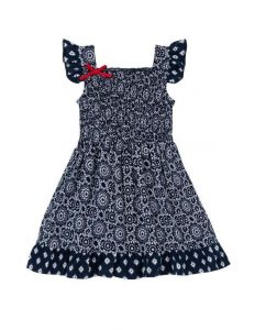 Hatley Tiled Mandala Flutter Sleeve Sun Dress