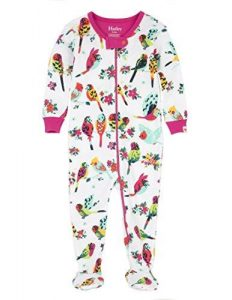 Hatley Tropical Birds Footed Coverall