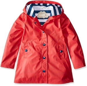 Hatley Girls Red Splash Jacket