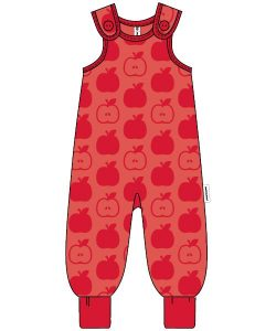 Maxomorra Red Apples Playsuit