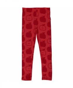 Maxomorra Red Apples Leggings