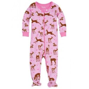 Hatley Soft Deers Infant Footed Coverall