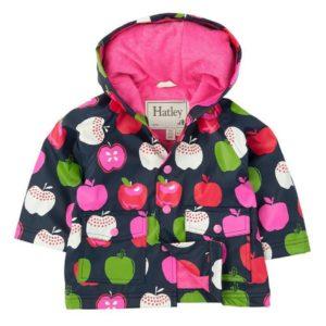 Hatley Nordic Apples Baby Raincoat