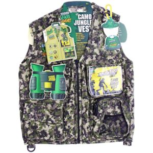 Backyard Safari Adventures Camo Jungle Vest