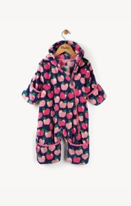 Hatley Apple Orchard Fuzzy Fleece Bundler