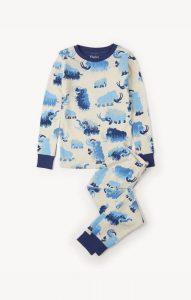 Hatley Cream Woolly Mammoths Pyjamas