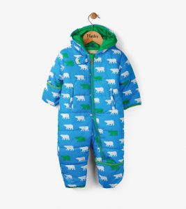 Hatley Blue Little Polar Bears Winter Bundler